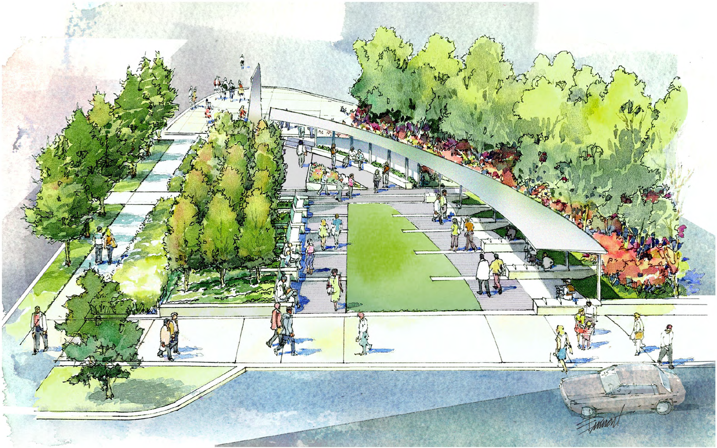 PNC Triangle Park (rendering)