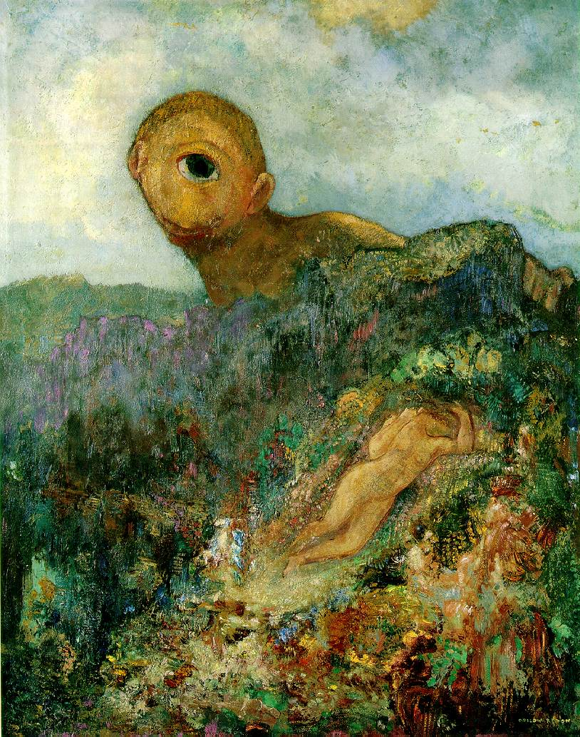Odilon Redon, The Cylops (1914)