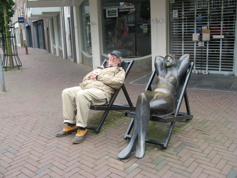 Public art in Middleburg, Holland