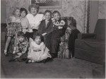 1954, with her grand-nephews