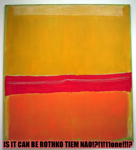 credit: based on the original Rothko Tiem Nao! by Emma Chammah