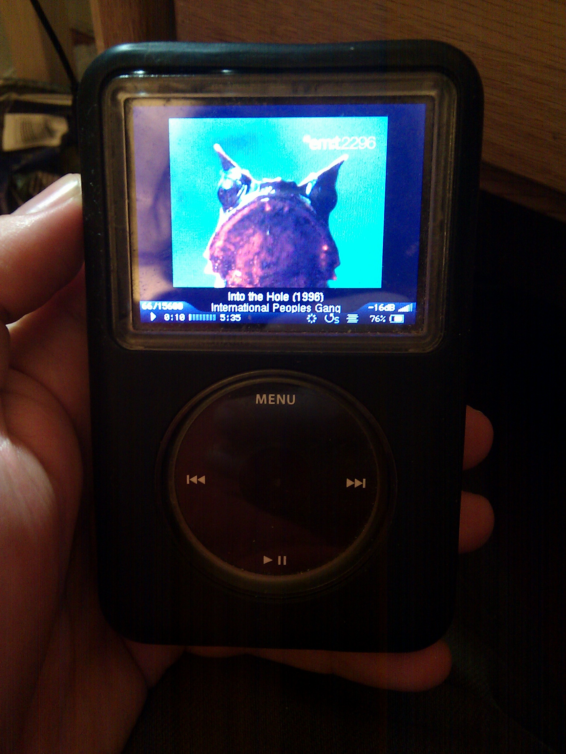 rockboxing the ipod classic  6g and above   was the