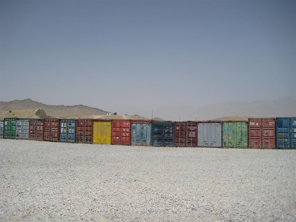 Shipping Containers in Kabul (from 3m1ly's flickr stream)