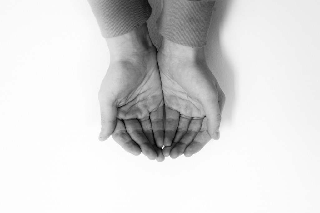 """""""Cupped Hands"""" (credit: Photo Ateller, license: CC BY)"""